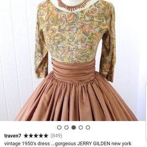 Jerry Golden Dress